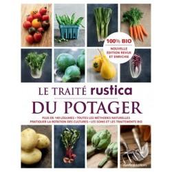 Livre de jardinage TRAITÉ DU POTAGER 100 % BIO