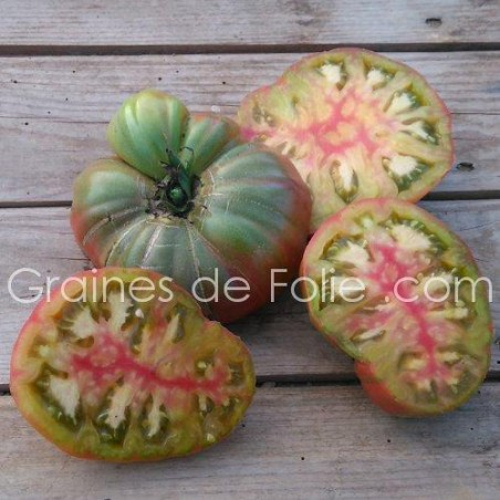 Bio Tomate ANANAS NOIRE graines semences black pineapple seeds
