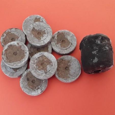 Pastilles pour semis - Terreau et Tourbe 41 mm