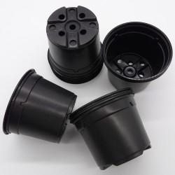 Pot 10.5 cm de diamètre pour semis, boutures, repiquage plantules. Matière polypropylène thermoformés. Résistance aux UV. Couleu